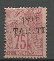 TAHITI N° 29 NEUF* CHARNIERE  / MH / Signé CALVES - Ungebraucht