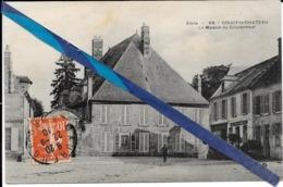 Coucy Le Chateau - Maison Du Gouverneur  - Circulé - France