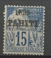 TAHITI N° 24 NEUF* CHARNIERE TB / MH / Signé CALVES - Tahiti (1882-1915)