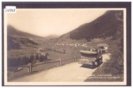 JULIER STRASSE - POSTAUTO - AUTOCAR POSTAL - TB - GR Graubünden