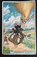 Ozonit Chromo Allemande Aerostat Guerre 1870 Ballon - Autres