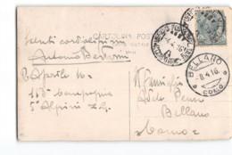 17613 - 5 ALPINI UFFICIO POSTA MILITARE 4 CORPO D'ARMATA X BELLANO - 1900-44 Victor Emmanuel III