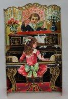 CHROMO Système Au Bon Marché Musique Piano Violon Chant - Au Bon Marché