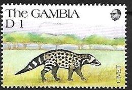 GAMBIA - MNH - 1991 : Ring-tailed Civet Cat - Bassariscus Astutus - Big Cats (cats Of Prey)