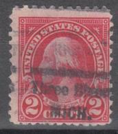 USA Precancel Vorausentwertung Preo, Locals Michigan, Three Rivers 554-534 - Vereinigte Staaten