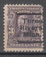 USA Precancel Vorausentwertung Preo, Locals Michigan, Three Rivers 302-L-4 E - Vereinigte Staaten