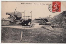 CPA- FONTAINEBLEAU- Mail Henri IV - Pieces De Côtes-1909-dép77-2scans-TBE - Fontainebleau