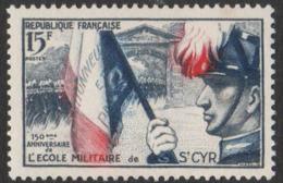 France Neuf Sans Charnière  1954  Ecole Militaire De Saint-Cyr Armée  YT 996 - Frankreich