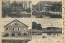STRASBOURG-souvenir Championnat D'europe 1902 - Strasbourg