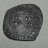 1541 ND - France - DENIER TOURNOIS à La Croisette, FRANCOIS 1er, (A), Billon, Dy 936 - 987-1789 Geld Van Koningen