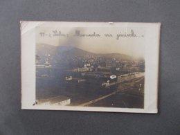 CARTE PHOTO.MONASTIR.VUE GENERALE.1918.EN L'ETAT. - Serbia