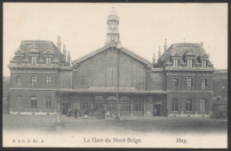 Carte Postale - La Gare Du Nord-Belge : Huy (N. 5 G.H.) / Voyagée - Huy