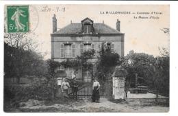 La Hallonnière . - Commune D'Yèvres . - La Maison D'Ecole. - France