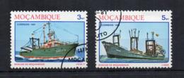 MOZAMBICO - 1981 - Navi E Barche - 2 Valori - Usati - (FDC18226) - Mozambico