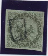 1 C Olive N° 1 Obl PD De La Réunion TB D'aspect. - Eagle And Crown