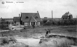 Westende - Les Fermettes (animée, Edit. Librairie Westendaise 1912) - Westende