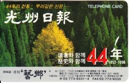 SOUTH KOREA - Korea Telecom Telecard(W3000), 08/95, Used - Corée Du Sud