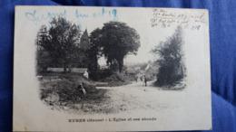 CPA EVRES MEUSE L EGLISE ET SEES ABORDS 27 OCTOBRE 1918  FIN 1 ERE GUERRE MONDIALE - Altri Comuni