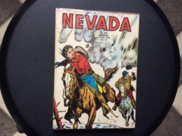 BANDE DESSINEE  NEVADA  No 273  Annee 1970  (SOUS EMBALLAGE PLASTIQUE) - Nevada