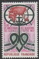 France Neuf Sans Charnière  1973  Académie Des Sciences D'Outre-Mer  Coeur  YT 1760 - Francia
