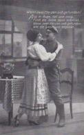 AK Wenn Zwei Herzen Sich Gefunden - Deutscher Soldat Mit Frau - Patriotika - 1. WK (45060) - Guerre 1914-18