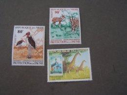 Niger Tiere Animals ..** MNH Vögel Birds.. Girafe - Niger