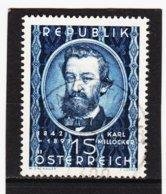HSE416 ÖSTERREICH 1949 Michl 947 Gestempelt / Entwertet ZÄHNUNG SIEHE ABBILDUNG - 1945-.... 2ème République