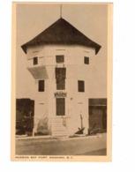 NANAIMO, British Columbia, Canada, Hudson Bay Fort, Old Filmer White Border Postcard - Nanaimo