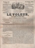 LE VOLEUR 05 07 1844 - RAVENAY 08 LE CHARMOY - CHASSE AU TIGRE PANTHERE JAGUAR - GRECE COUVENT PENTELIQUE - MAROC - SYRA - Kranten