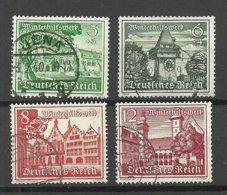 Deutsches Reich 1939 Michel 732 - 735 O Winterhilfe - Allemagne