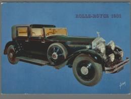 CPM Automobile - Rolls Royce 1931 - Collection Bonnal Renaulac à Bègles - Voitures De Tourisme