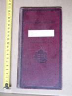 SR - 1937 - School Report - Szegedi Állami Fiúiskola - Lektion Buch Lesson Book DB01 - Diplomas Y Calificaciones Escolares