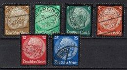 DR 1934 // Mi. 548/553 O - Allemagne