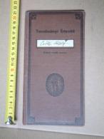 SR - 1941 - School Report - Szegedi Líceum - Lektion Buch Lesson Book DB01 - Diplomas Y Calificaciones Escolares
