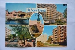 ILE-SAINT-DENIS-multi Vues-peniche-voiture Ancienne - L'Ile Saint Denis