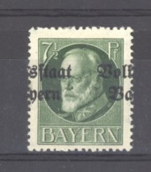 GRX 502  - Allemagne  -  Bavière  :  Mi  118 IIA  *  Surcharge à Cheval - Bayern