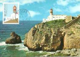 Carte Maximum - Portugal - Farol Do Cabo De S. Vicente Sagres - Phare - Lighthouse - Tarjetas – Máximo