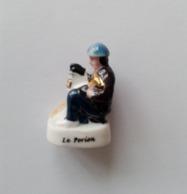 Fève Le Porion Série Mines De Charbon En Lorraine Autrefois - Regio's