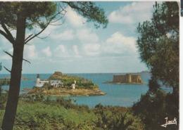 Plougasnou Le Château Du Taureau Et L'Ile Louet Vus De Carantec - Plougasnou