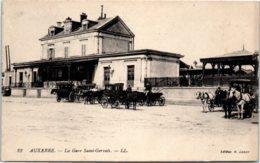 89 AUXERRE - La Gare Saint-Gervais - Attelage - Auxerre