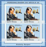 Guinea - Bissau 2001 - Anatoly Karpov. Michel 1959 - Guinea-Bissau