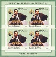 Guinea - Bissau 2001 - Garry Kasparov. Michel 1961 - Guinea-Bissau