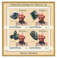 Guinea - Bissau 2001 - Nelson Mandela (mineralls). Michel 1980-1983 - Guinea-Bissau