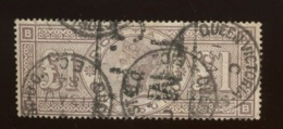 Yv 89 Pd Ø.ONE POUND  Cote 2500 Euros Mais Fente Bouchée. Tear Reglued  Sold As Space Filler - Used Stamps