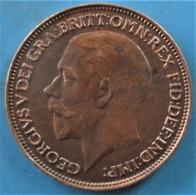 ROYAUME-UNI 1 Farthing Georges V 1922, SUP - 1902-1971 : Monete Post-Vittoriane