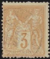France       .    Yvert    .     86       .         O      .      Oblitéré - 1876-1898 Sage (Type II)