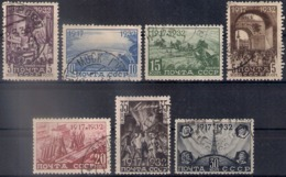 Russia 1932, Michel Nr 414-20, Used - Usati