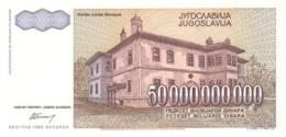 YUGOSLAVIA P. 136 50.000.000.000 D 1993 UNC - Joegoslavië