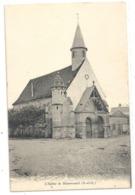 L'EGLISE DE MAURECOURT . CARTE NON ECRITE - Maurecourt