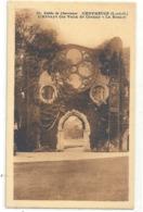 61. VALLEE DE CHEVREUSE . L'ABBAYE DE VAUX DE CERNAY . LA ROSACE . CARTE NON ECRITE - Vaux De Cernay
